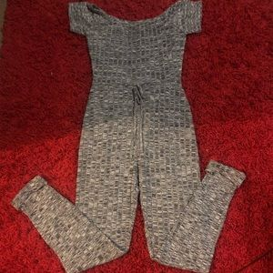 PrettyLittleThing Gray Jumpsuit Size 8